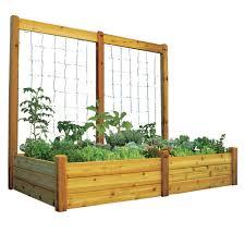 amazon com gronomics rgbttk4895s raised safe finish garden bed