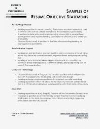 Example Career Objectives Writing Resume Objective Examples Of For Current Resumes Titled Re Full Size