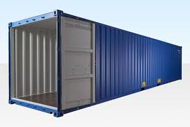 100 Shipping Container 40ft Blue