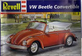 Amazon.com: Revell VW Beetle Convertible Testors VW Bug Model Kit ...