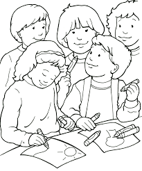 Friendship Coloring Pages Printables