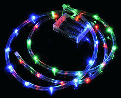 battery powered led rope lights uk waterproof string light ft