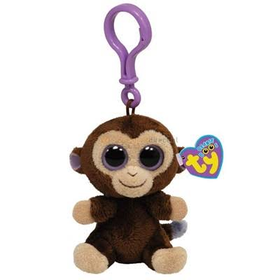 Ty Beanie Boos - Coconut-Clip the Monkey