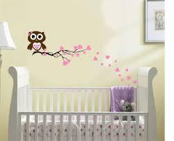 Owl Bedroom Wall Stickers by Sweet Owl Baby Room Wall Art Baby Room Ideas Owl