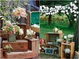 Rustic Wooden Box Wedding Decor Ideas Deerpearlflowers