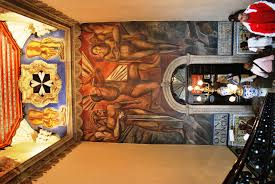 Jose Clemente Orozco Murales Palacio De Gobierno by Casa De Los Azulejos