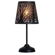 Rustic Table Lamps For Less
