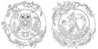 Enchanted Forest Coloring Book O Chronicle Books