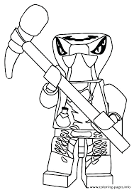 Coloring Pages Printable Lego Ninjago Kai Zx 5 Pa