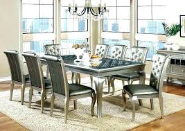 Contemporary Dining Table Dinette Sets Image Of Modern Formal Room Oak Images Chairs Full Size Round
