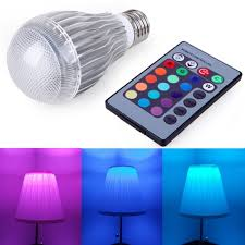 hde remote dimming energy efficient multi color changing