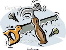 Saw Tool Carpentry Carpenter Work Hand Brace Clip Art