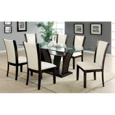 Seven Piece Dining Room Set 7 piece glass dining room set foter