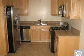maple cabinets and wood floor
