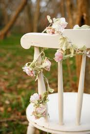 Shabby Chic Wedding Decorations Uk by Pale Pink Rose Flower Garland Shabby Chic Vintage Style Wedding