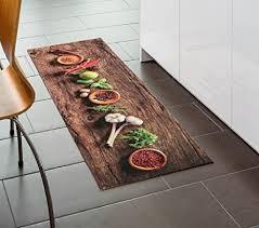 küchenteppich küchenläufer küchenmatte dekoläufer für küche flur teppich läufer waschbar waschbare küchenläufer küchendeko landhaus stil modell