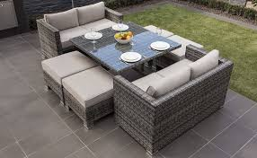 patio sofa dining set stunning outdoor dining sofa set modern patio dining furniture
