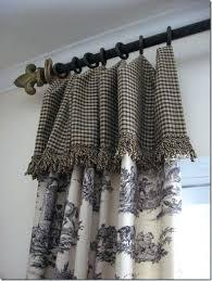 curtain rod brackets no drill kitchen window valances french