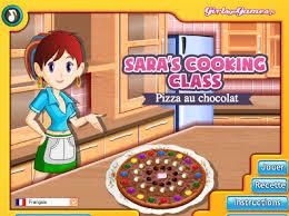jeux de cuisine de pizza de jeu pizza au chocolat