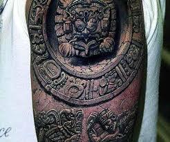 Eagle Gun And Eye Pyramid Tattoos