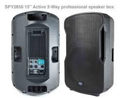 100 Speaker Boxes For Trucks SPY2850 15 Active 2WayProfessional Box