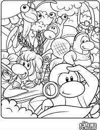 Norman Swarm Coloring Page