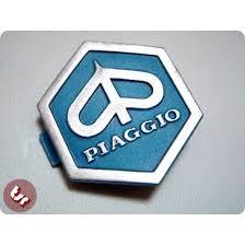 VESPA PX T5 LML Horncast Clip Hexagon Badge Logo Blue