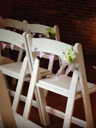 Cute Mini Bunting On Chairs | Wedding Venue Decorations ... Stretch Cover Wedding Decoration For Folding Chair Party Set For Or Another Catered Event Dinner Beautiful Ceremony White Wooden Chairs Details About Spandex Chair Covers Stretchable Fitted Tight Decorations 80 Best Stocks Of Decorate Home Design Hot Item 6piece Ding By Mainstays Patio Table Umbrella Outdoor Amazoncom Doll Beach Lounger Dollhouse Interior Decorated With Design Fniture Folding Chair Padded Chairs Round Tables White Roof Hfftlh Adjustable Padded Headrest Black Flocking Cover Tradeshow Eucalyptus Branch Natural Aisle