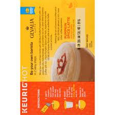 Nonfat Pumpkin Spice Latte Calories by Gevalia Pumpkin Spice Latte Espresso K Cup Pods U0026 Latte Froth