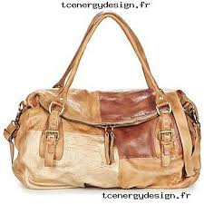 femme airstep a s 98 clara doré camel sacs sacs porté épaule