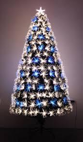 Pre Lit Pencil Christmas Tree Walmart by Christmas Fiber Optic Pre Lit Christmas Tree And Ft Trees