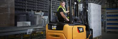 100 Cat Lift Trucks Electric Steerbywire System Reduces Energy Consumption