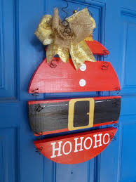 Santa Sign HO Wood Ornament By Kathleenmelville1 Projects With Scrap