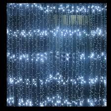 2m white led waterfall lights festive lights lights for all