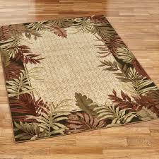 Bathroom Rug Runner 24x60 by Tropical Area Rugs Touch Of Class