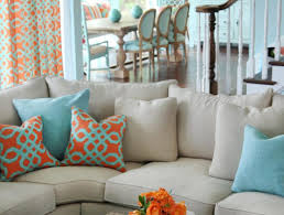 Grey Brown And Turquoise Living Room by Curtains Teal Curtains Awesome Turquoise And Orange Curtains