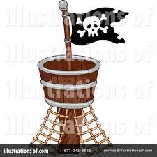 100 Design A Pirate Ship Clipart 1101838 Illustration By BNP Studio