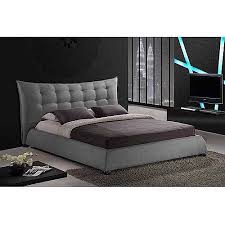 Moduluxe 29 In High Upholstered King Bed USA Made Regarding