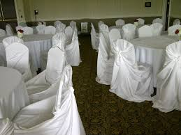 White Chair Cover & Wedding Reception Chairs With White ... Black White Damask Runner With Tablecloths White Stretch Scuba Folding Wedding Chair Cover Party Supplies Champagne Satin Sashes On Ivory Spandex Covers In The Trimmings Seventh Heaven 57 Lifetime Whosale Polyester Event Chaircoverfactory 100pcs Universal For Supply Banquet Decoration Us Stock Ivory Chair Covers Esraldaxtreme Charcoal Grey Lavender Royal Blue