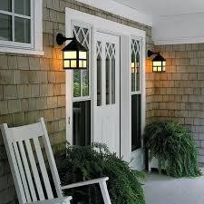 outdoor porch lighting exterior wall light provides front entry