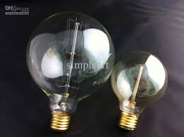 antique vintage edison light bulb 40w 110v 220v large g125ad