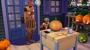 Preserve Carved Pumpkin Forever by The Sims 4 Spooky Stuff