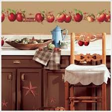 Huge Set Of 80 Country Apples Peel And Stick Wall Decals