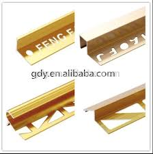 Wood To Tile Metal Transition Strips by Aluminium Tile Edgeing Strip Metal Transition Strips From China Of