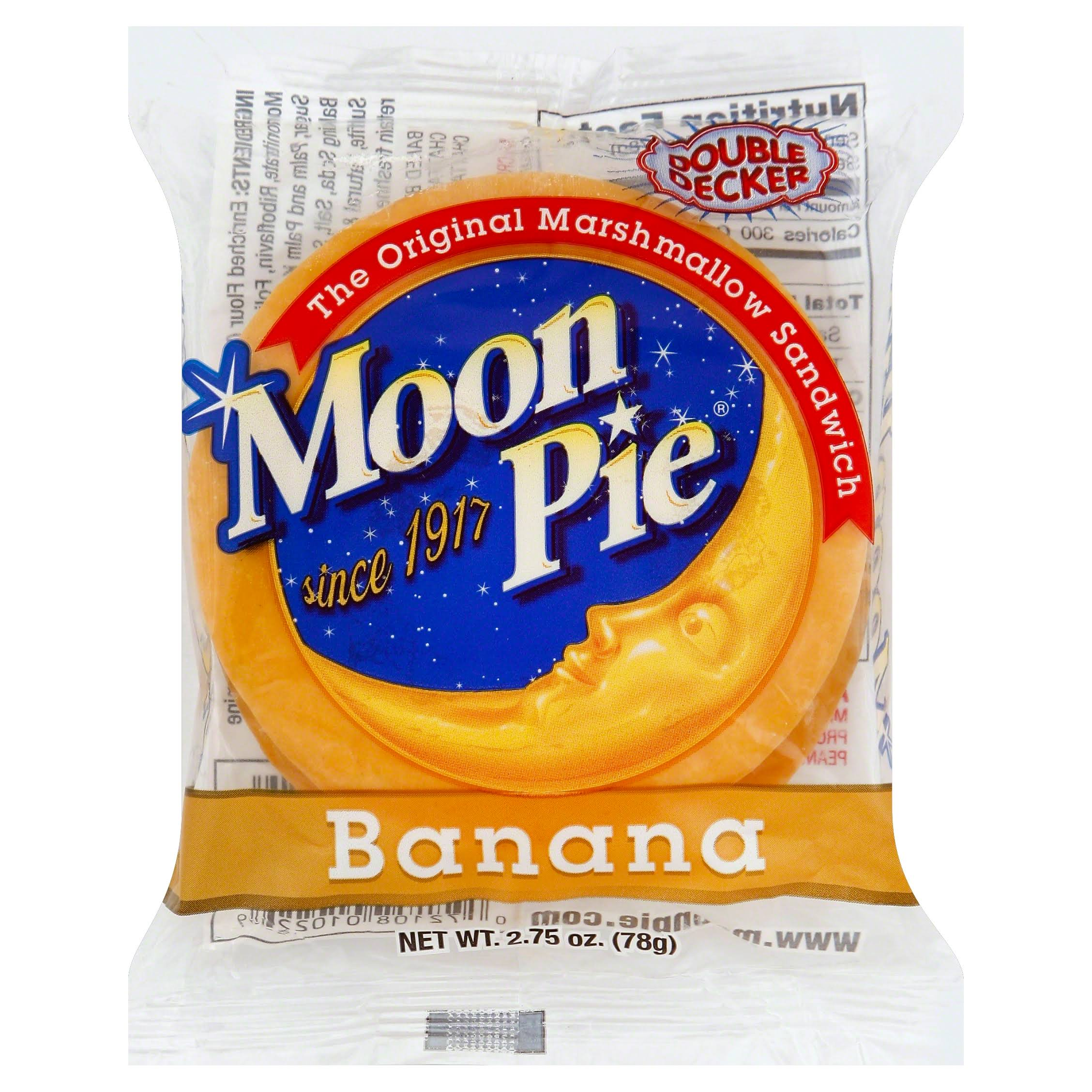 Double Decker Moon Pie - Banana Flavor, 33oz