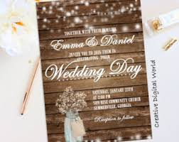 Rustic Wedding Invitations Using Creative And Smart Ideas 17