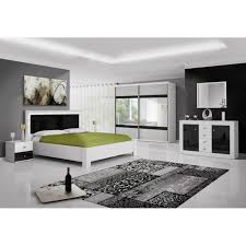 achat chambre chambre adulte complet blanc laquee achat vente chambre adulte