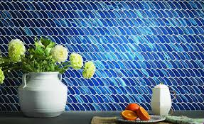 lunada bay tile unveils new shapes for luce glass mosaic