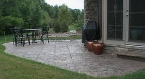concrete patio appleton wi united concrete construction appleton wi and surrounding fox