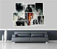 collage view army troops tanks wall stickers